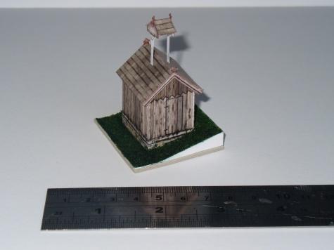 zvonice na bílém kříži