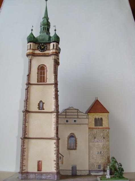 Zvonice Sv.Petra a Pavla na Mělníku