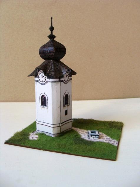 zvonička z Liptova